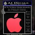 Apple Logo Original Decal Sticker Pink Vinyl Emblem 120x120