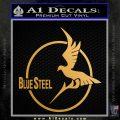Arpeggio Of Blue Steel Anime Decal Sticker Metallic Gold Vinyl 120x120