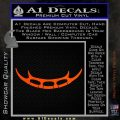 Batleth Klingon Sword of Honor Decal Sticker Star Trek Orange Vinyl Emblem 120x120