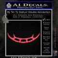 Batleth Klingon Sword of Honor Decal Sticker Star Trek Pink Vinyl Emblem 120x120