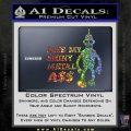 Bender Bite My Metal Ass Decal Sticker DZA Sparkle Glitter Vinyl 120x120