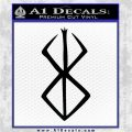 Berserk Brand Of Sacrifice Decal Sticker D2 Black Logo Emblem 120x120