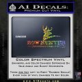 Bow Hunter Archer Decal Sticker Stacked Sparkle Glitter Vinyl 120x120
