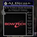 Bowtech Archer Decal Sticker Logo Pink Vinyl Emblem 120x120