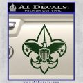 Boy Scouts Logo Decal Sticker Dark Green Vinyl 120x120