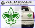 Boy Scouts Logo Decal Sticker Green Vinyl 120x97