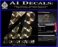 Bridgestone Tires Logo Decal Sticker Stacked 3dc 120x97