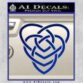 Celtic Creator Knot Decal Sticker Blue Vinyl 120x120