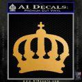 Clan Lasombra Symbol Vampire Masquerade Decal Sticker Metallic Gold Vinyl 120x120