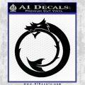 Clan Tzimisce Symbol Vampire Masquerade Decal Sticker Black Logo Emblem 120x120