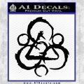 Coheed and Cambria Symbol TR Decal Sticker Black Logo Emblem 120x120