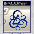 Coheed and Cambria Symbol TR Decal Sticker Blue Vinyl 120x120