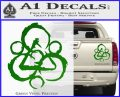 Coheed and Cambria Symbol TR Decal Sticker Green Vinyl 120x97