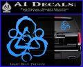 Coheed and Cambria Symbol TR Decal Sticker Light Blue Vinyl 120x97