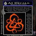 Coheed and Cambria Symbol TR Decal Sticker Orange Vinyl Emblem 120x120