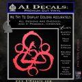 Coheed and Cambria Symbol TR Decal Sticker Pink Vinyl Emblem 120x120