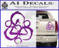 Coheed and Cambria Symbol TR Decal Sticker Purple Vinyl 120x97