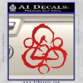 Coheed and Cambria Symbol TR Decal Sticker Red Vinyl 120x120