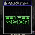 ColecoVision Decal Sticker Lime Green Vinyl 120x120