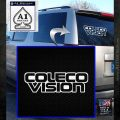ColecoVision Decal Sticker White Emblem 120x120