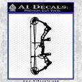 Compound Bow Decal Sticker INT Black Logo Emblem 120x120