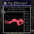 Crossbow Decal Sticker Archery Pink Vinyl Emblem 120x120