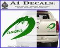 Cylon Raider Decal Sticker Battlestar BSG D4 Green Vinyl 120x97