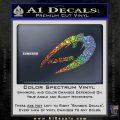 Cylon Raider Decal Sticker Battlestar BSG D4 Sparkle Glitter Vinyl 120x120