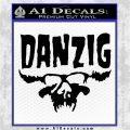 Danzig Decal D3 Sticker Black Logo Emblem 120x120