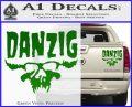 Danzig Decal D3 Sticker Green Vinyl 120x97