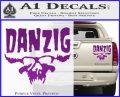 Danzig Decal D3 Sticker Purple Vinyl 120x97