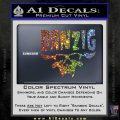Danzig Decal D3 Sticker Sparkle Glitter Vinyl 120x120