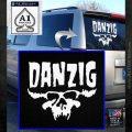 Danzig Decal D3 Sticker White Emblem 120x120