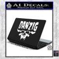 Danzig Decal D3 Sticker White Vinyl Laptop 120x120