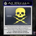 Death Proof Stuntman Mike Decal Sticker Yelllow Vinyl 120x120