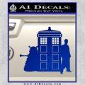 Doctor Who TARDIS Dalek INT Decal Sticker Blue Vinyl 1 120x120