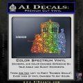 Doctor Who TARDIS Dalek INT Decal Sticker Sparkle Glitter Vinyl 1 120x120