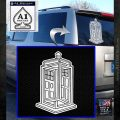 Doctor Who TARDIS Impossible Decal Sticker White Emblem 120x120
