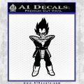 Dragon Ball Z DBZ Anime Decal Sticker ST Black Logo Emblem 120x120