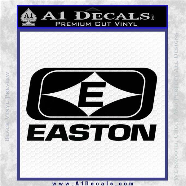 Easton Archery Logo Decal Sticker Black Logo Emblem