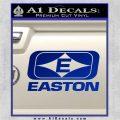 Easton Archery Logo Decal Sticker Blue Vinyl 120x120