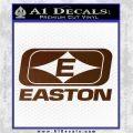 Easton Archery Logo Decal Sticker Brown Vinyl 120x120