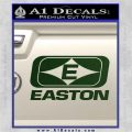 Easton Archery Logo Decal Sticker Dark Green Vinyl 120x120