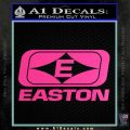 Easton Archery Logo Decal Sticker Hot Pink Vinyl 120x120