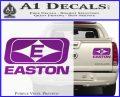 Easton Archery Logo Decal Sticker Purple Vinyl 120x97