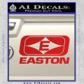 Easton Archery Logo Decal Sticker Red Vinyl 120x120