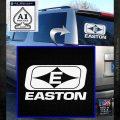 Easton Archery Logo Decal Sticker White Emblem 120x120