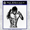 Eren in Titan Form Attack on Titan D7 Decal Sticker Black Logo Emblem 120x120