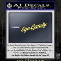Eye Candy JDM Decal Sticker Yelllow Vinyl 120x120