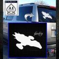 Firefly Serenity Decal Sticker White Emblem 120x120